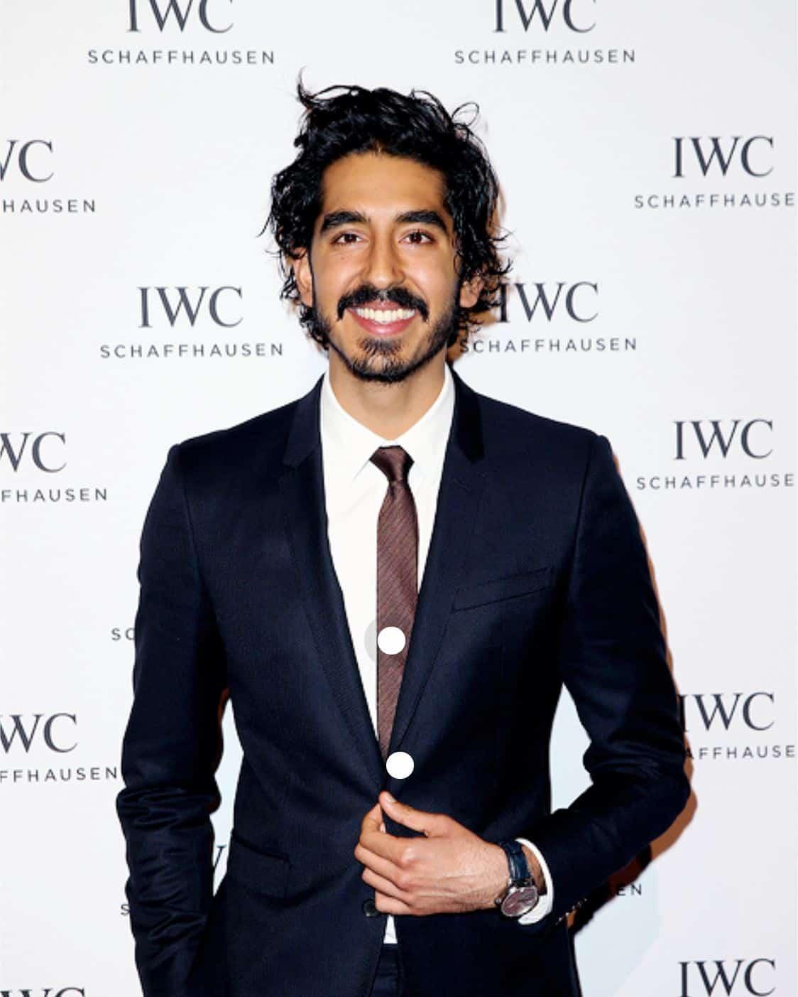 Geht mit seiner IWC Portugieser durch dick und dünn: Dev Patek, Schauspieler und Preisträger