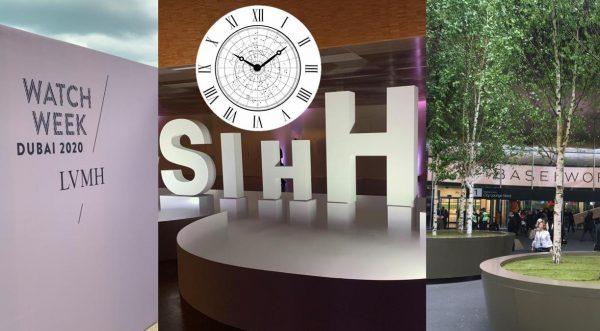 Baselworld, SIHH, Watches & Wonders und Inhorgenta im Wandel der Zeit