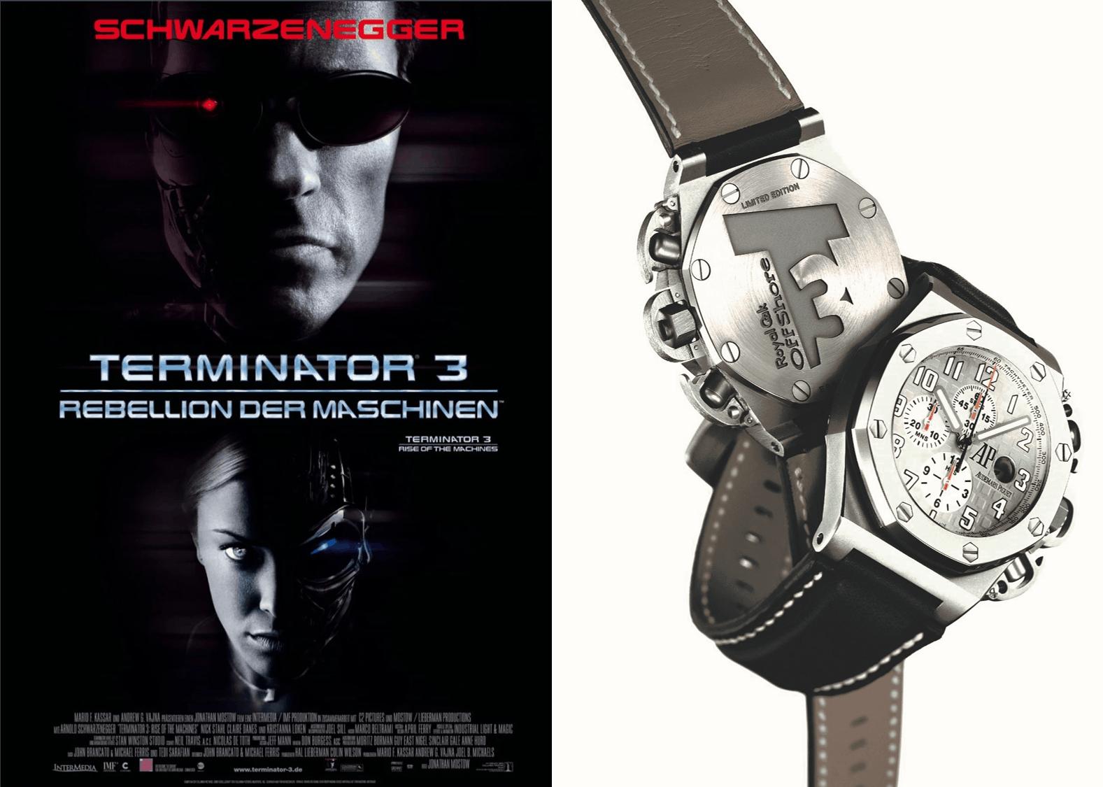 Watch of FameArnold Schwarzenegger und Audemars Piguet: Ist sie zu groß, bist du zu klein!