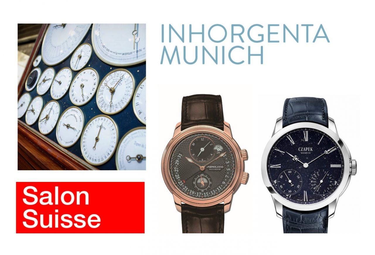 Parmigiani Fleurier, Czapek und Bumont schmücken den Inhorgenta Salon Suisse