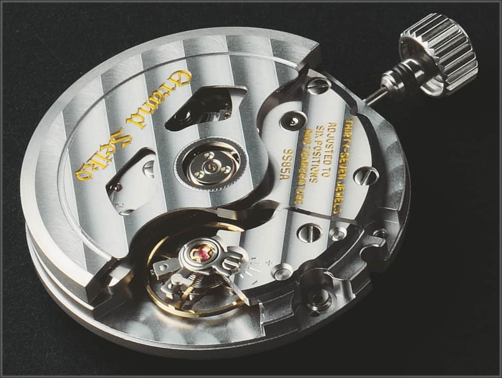Das hochpräzise Grand Seiko Kaliber 9S85