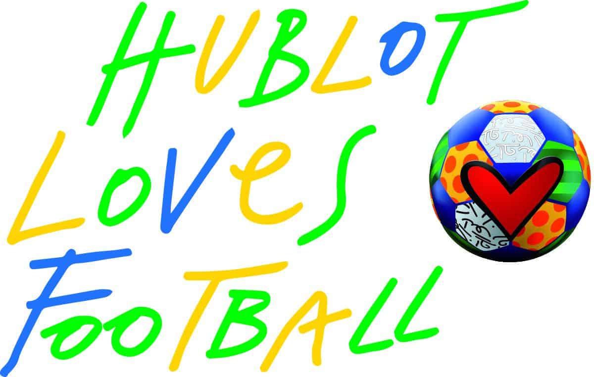 Hublot loves Football Fussball Slogan
