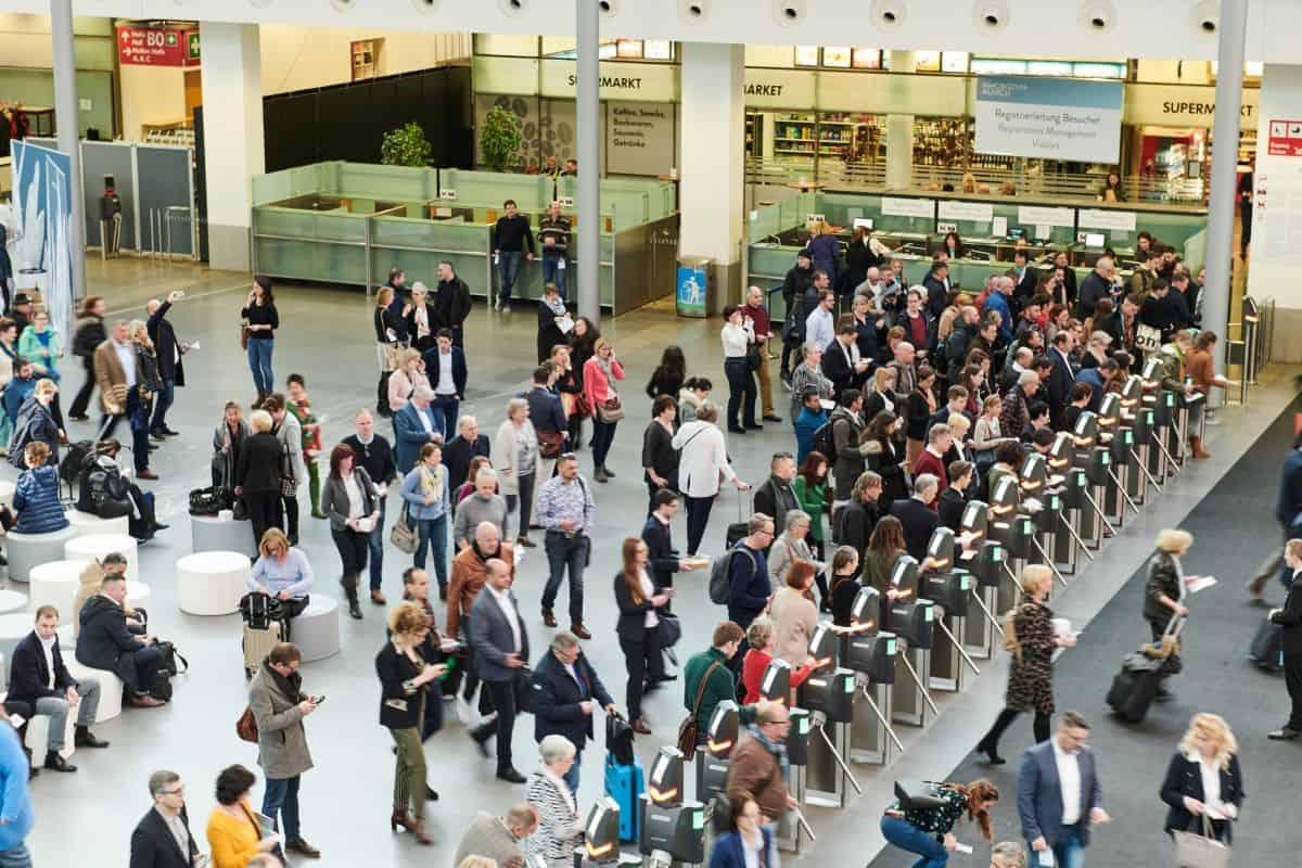 Rund 26.000 Fachbesucher aus mehr als 80 Ländern kamen 2020 zur Münchner Inhorgenta