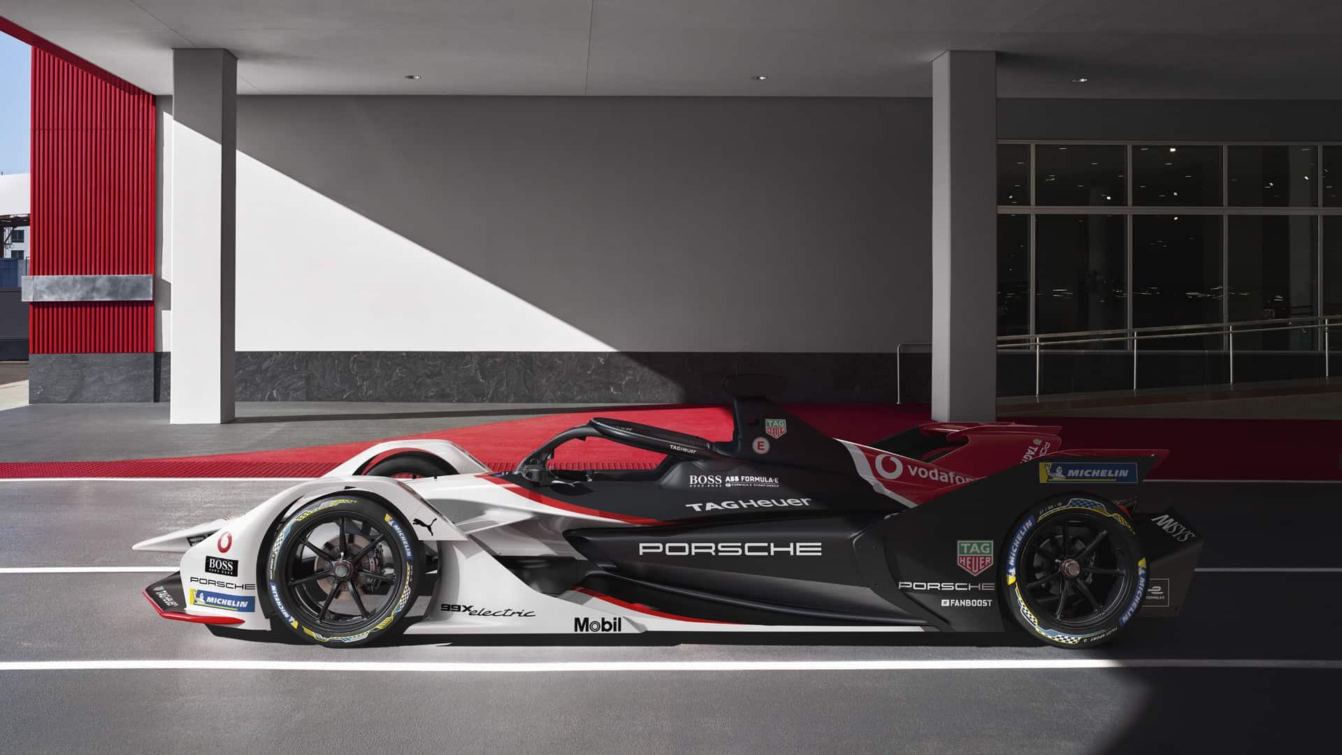 Partnerschaft TAG Heuer Porsche Formula E