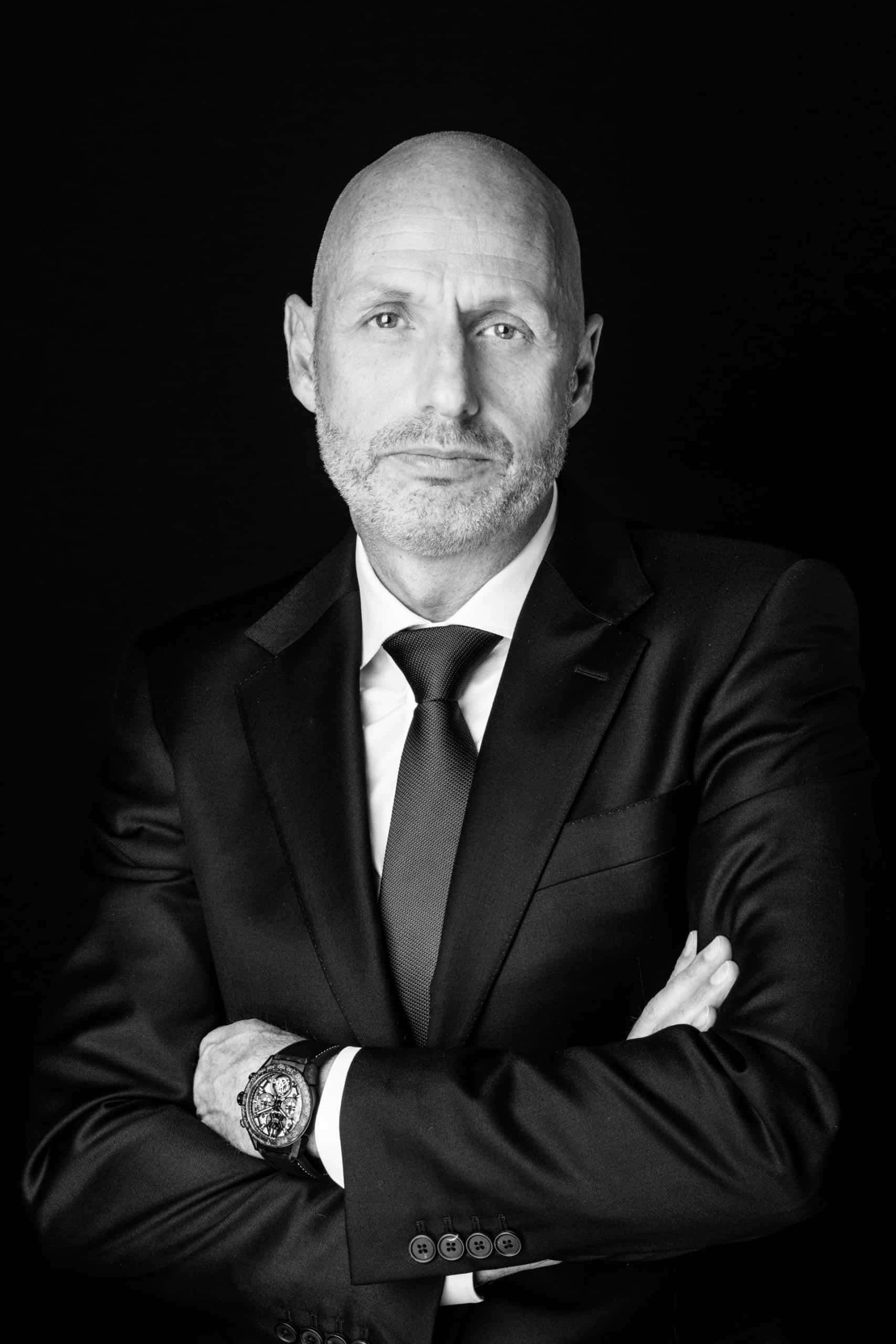 Der CEO der LVMH Watch Division Stephane Bianchi