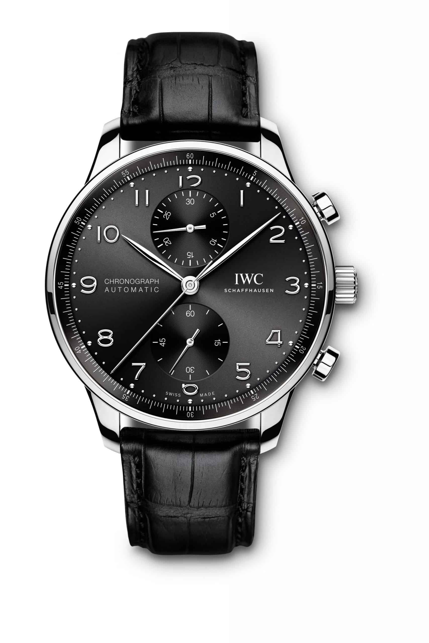IWC Portugieser Chronograph Stahl, Referenz IW371609