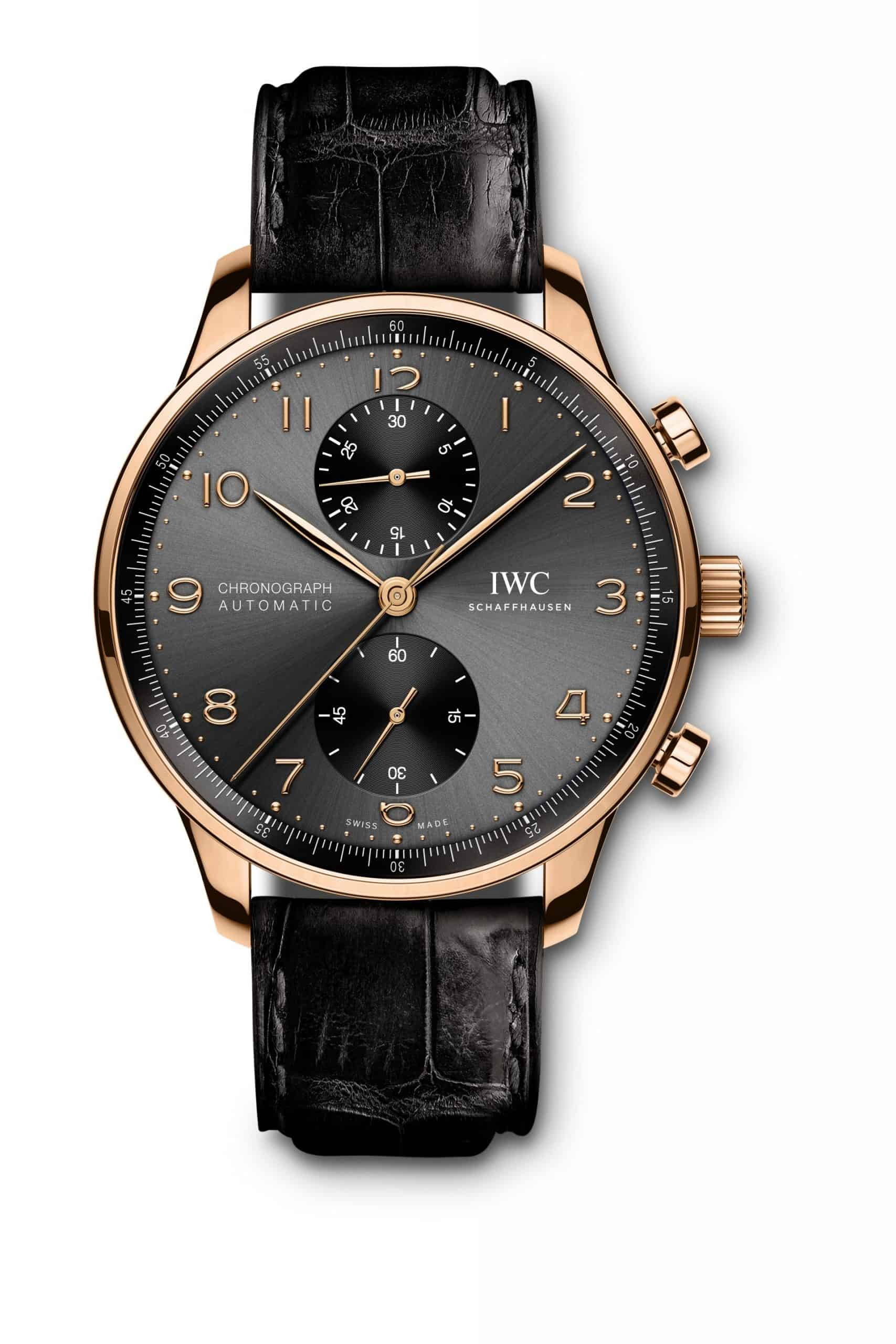 IWC Portugieser Chronograph Rotgold, Referenz IW371610