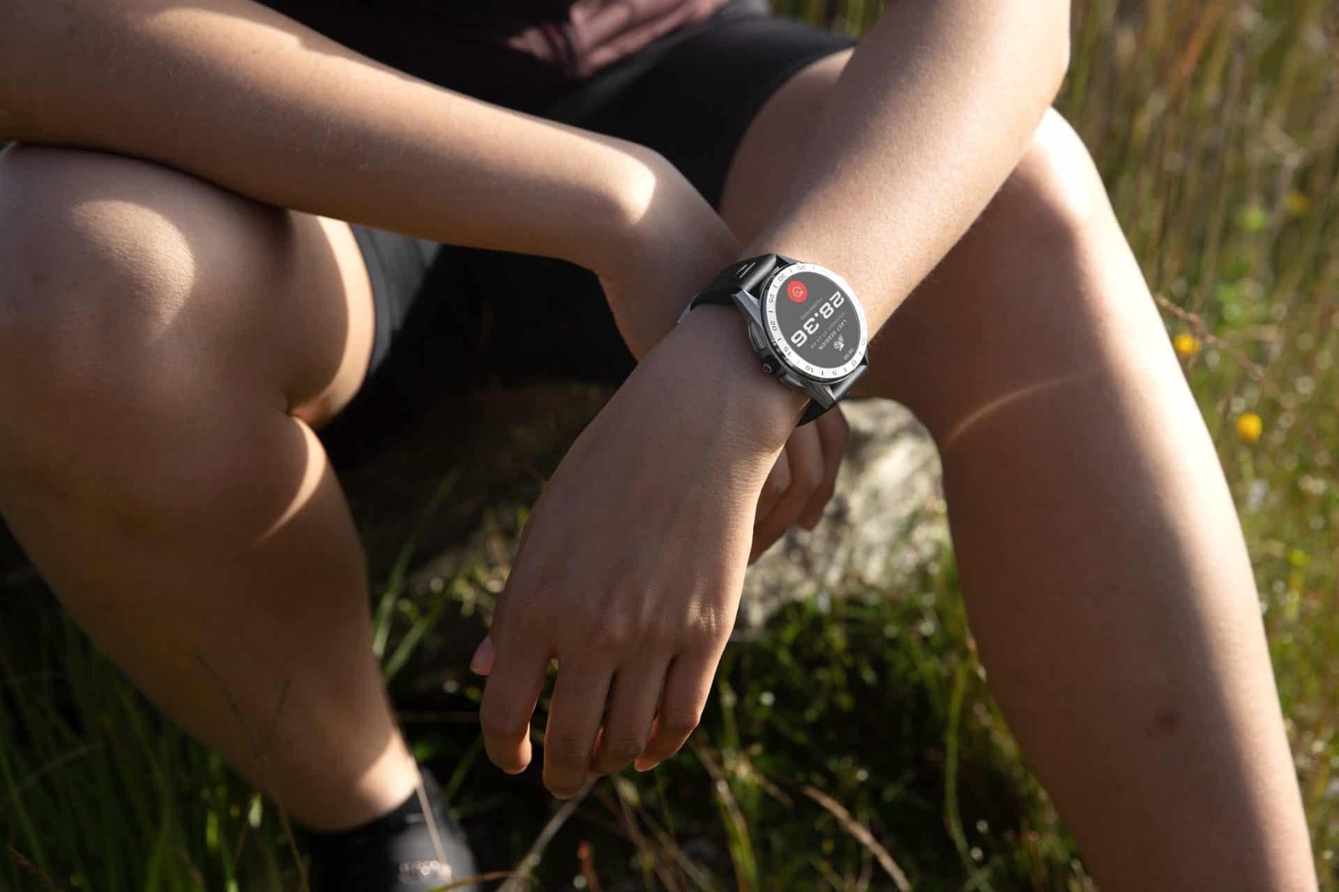 Auch im Sportmodus hat die TAG Heuer Smartwatch noch einen hohen Lifestyle-Faktor