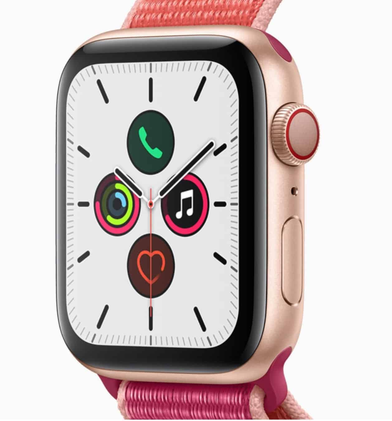 Die multifunktionale Apple Smartwatch Modell 5