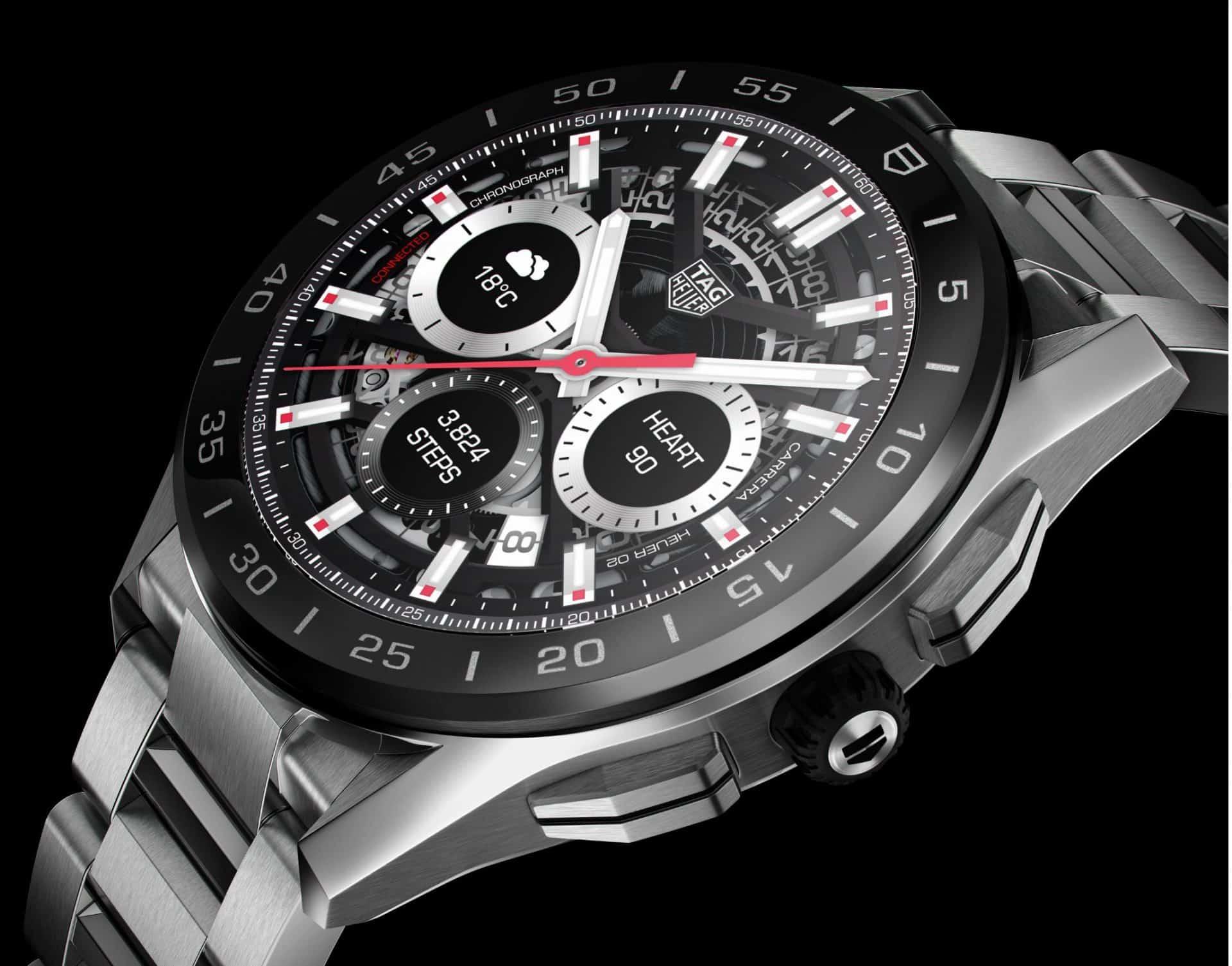 Gehäuse und Stahlband zeigen die Kompetenz des Luxus-Uhrenherstellers