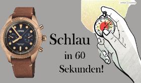 Wann ist eine Uhr eine Taucheruhr?