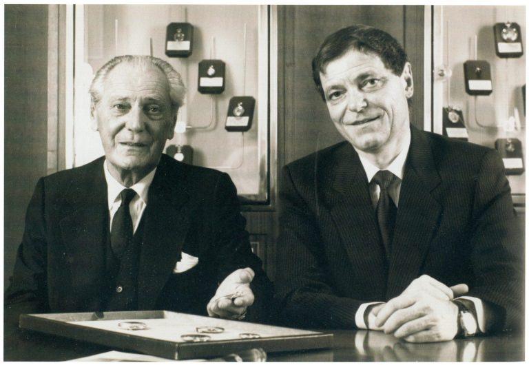 Die zweite und dritte Generation Stern - Henri und Philippe Stern