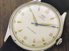 Eine 50er-Jahre ARSA Vintage-Uhr mit Felsa Automatik-Kaliber