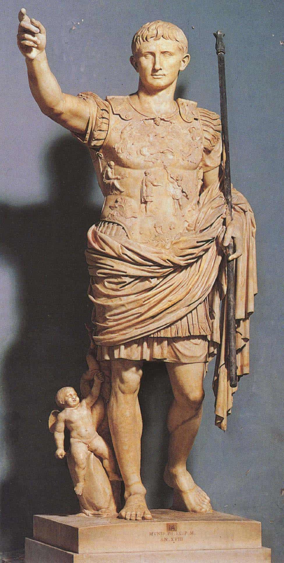 Augustus weist den Weg - und ordnete den Kalender