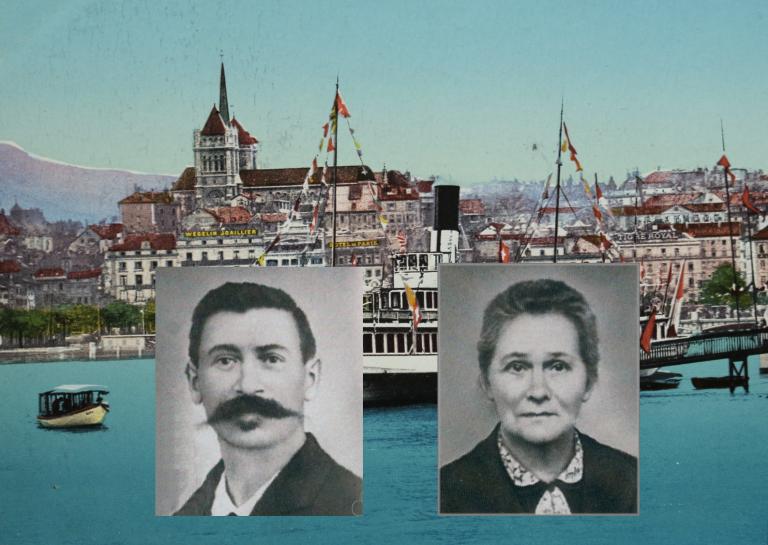 Louise und Henri Edouard Stern zogen mit ihrer Zifferblatt-Manufaktur nach Genf
