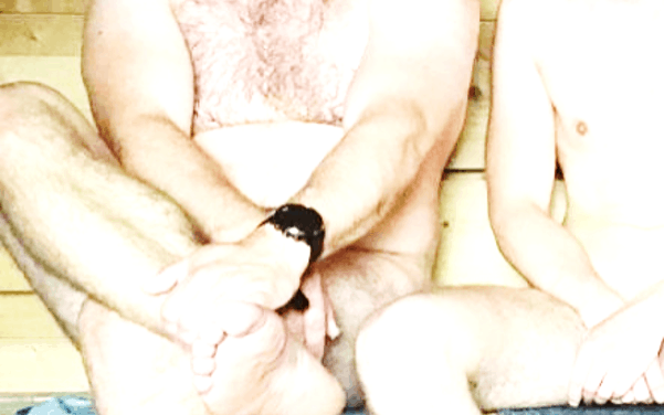 Uhr-Sachen-Forschung in der Sauna!