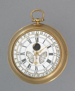 Der ewige Kalender wurde noch mit einem Schlüssel aufgezogen