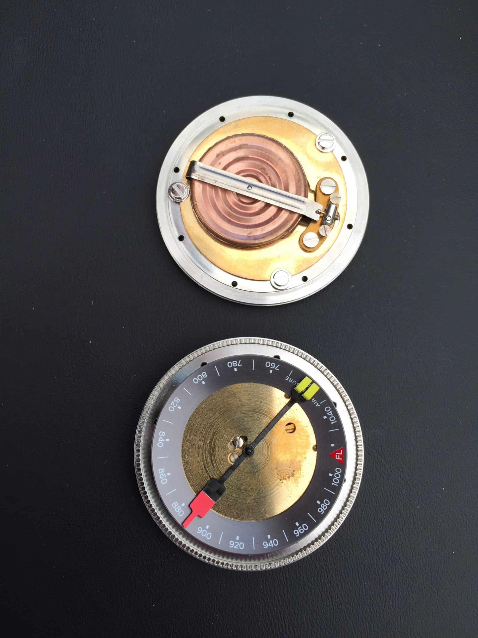Das Oris Höhenmessermodul in der ProPilot Altimeter