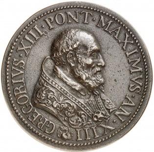 Die Kalender-Reform wurde durch Pabst Gregor VIII durchgeführt