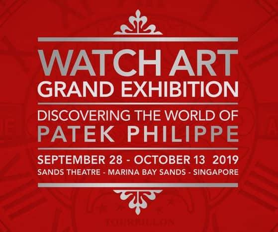 Die Patek Philippe Ausstellung in Singapur im Jahr 2019 war ein gewaltiger Erfolg