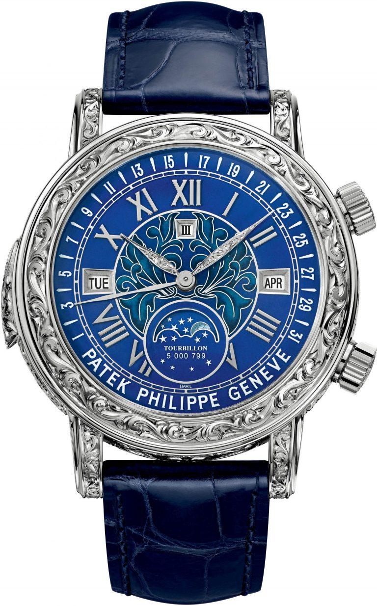 Patek Philippe Sky Moon Tourbillon Ref 6002G - Luxus pur