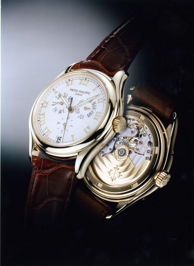 Patek Philippe - Weltweit erste Armbanduhr mit Jahreskalender - Referenz 5035 von 1996