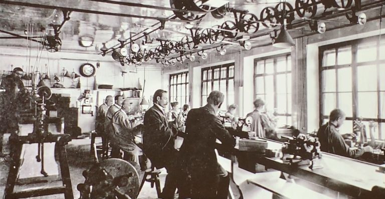 Das Ziel aller Wünsche - die Ateliers von Patek Philippe im Jahr 1933