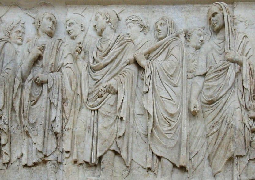 Die Priester im alten Rom hatten bisweilen dezidiert Gottheiten zu dienen oder Aufgaben zu übernehmen