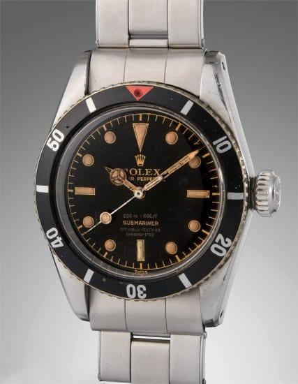 Diese Rolex Submariner Big Crown 6538 wurde beim Auktionshaus Phillips für stattliche 567.000 Dollar versteigert.