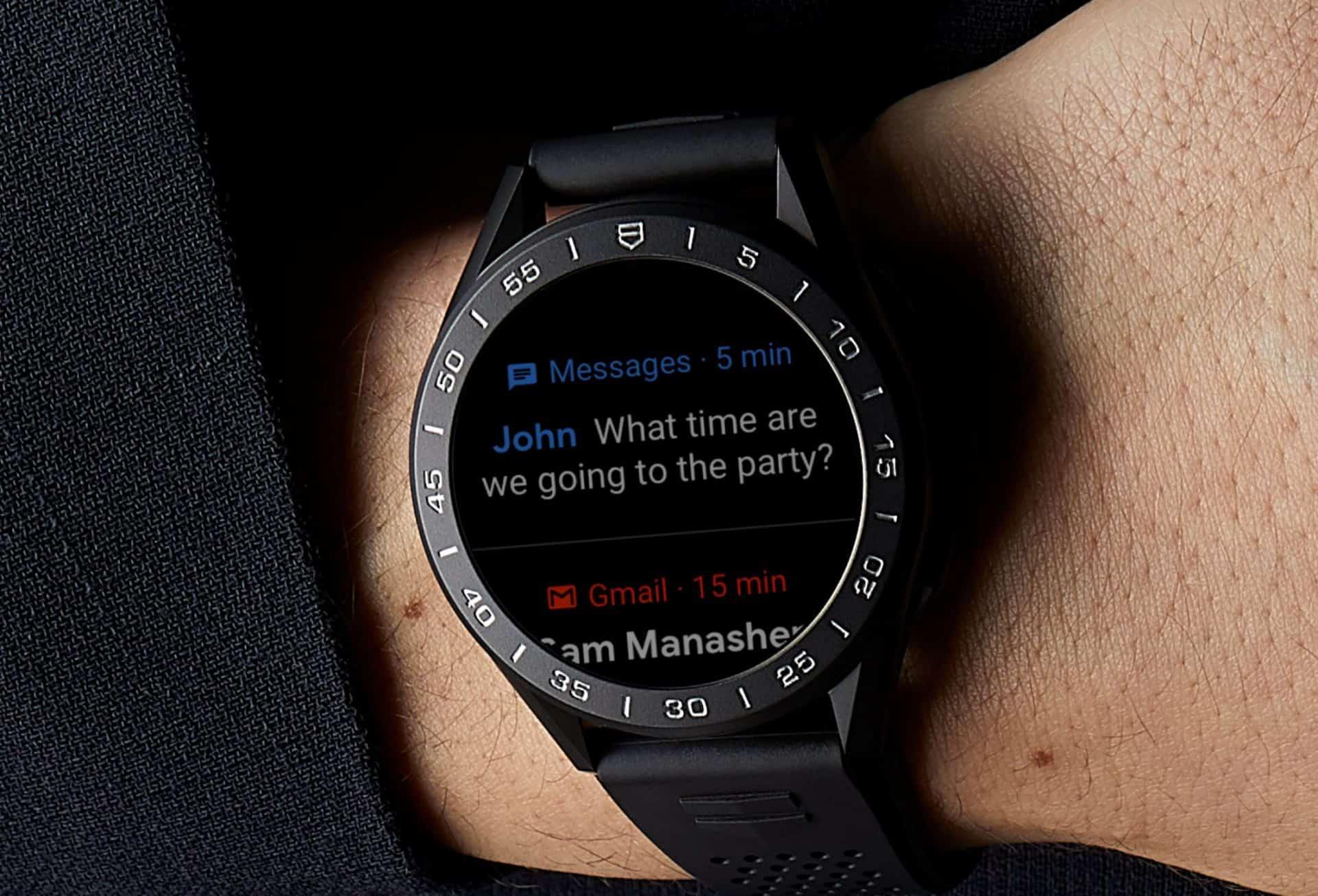 Nachrichtenfunktionen werden klassisch auf dem Display angezeigt und lassen sich personalisieren
