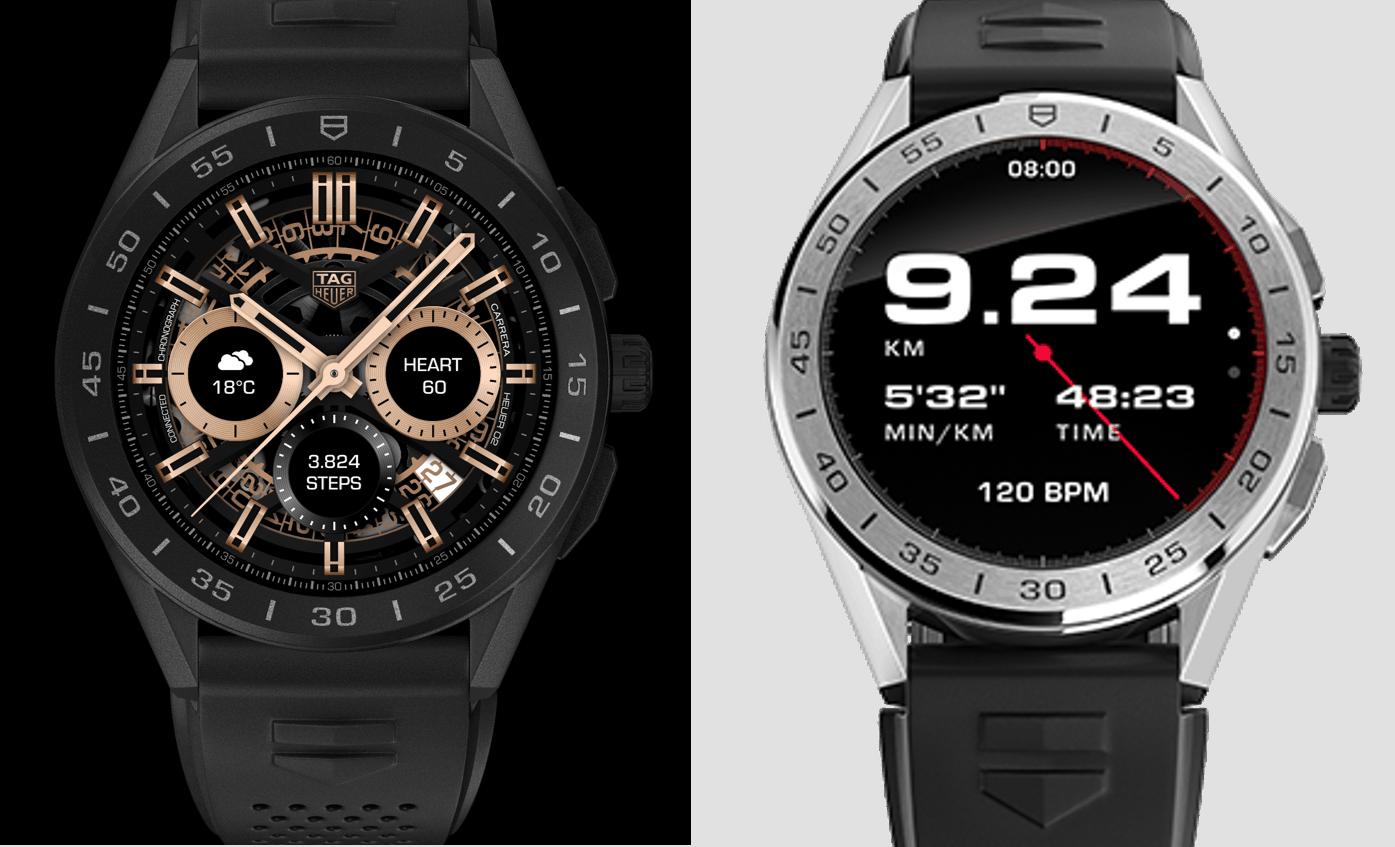 TAG Heuer Connected Watch Varianten