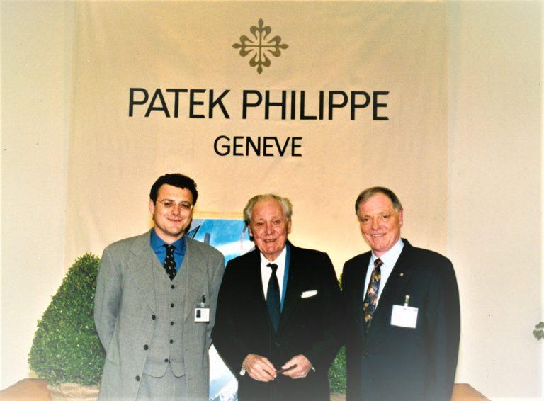 Die drei Generationen Thierry Henri Philippe Stern im Jahre 1996