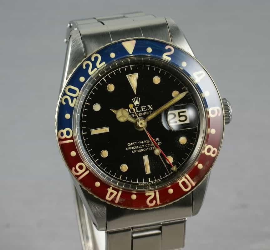 Haben wollen: Die Vintage Rolex GMT Master-I mit Kunststoff-Lünette für Uhrensammler und Vintage-Uhren Freunde