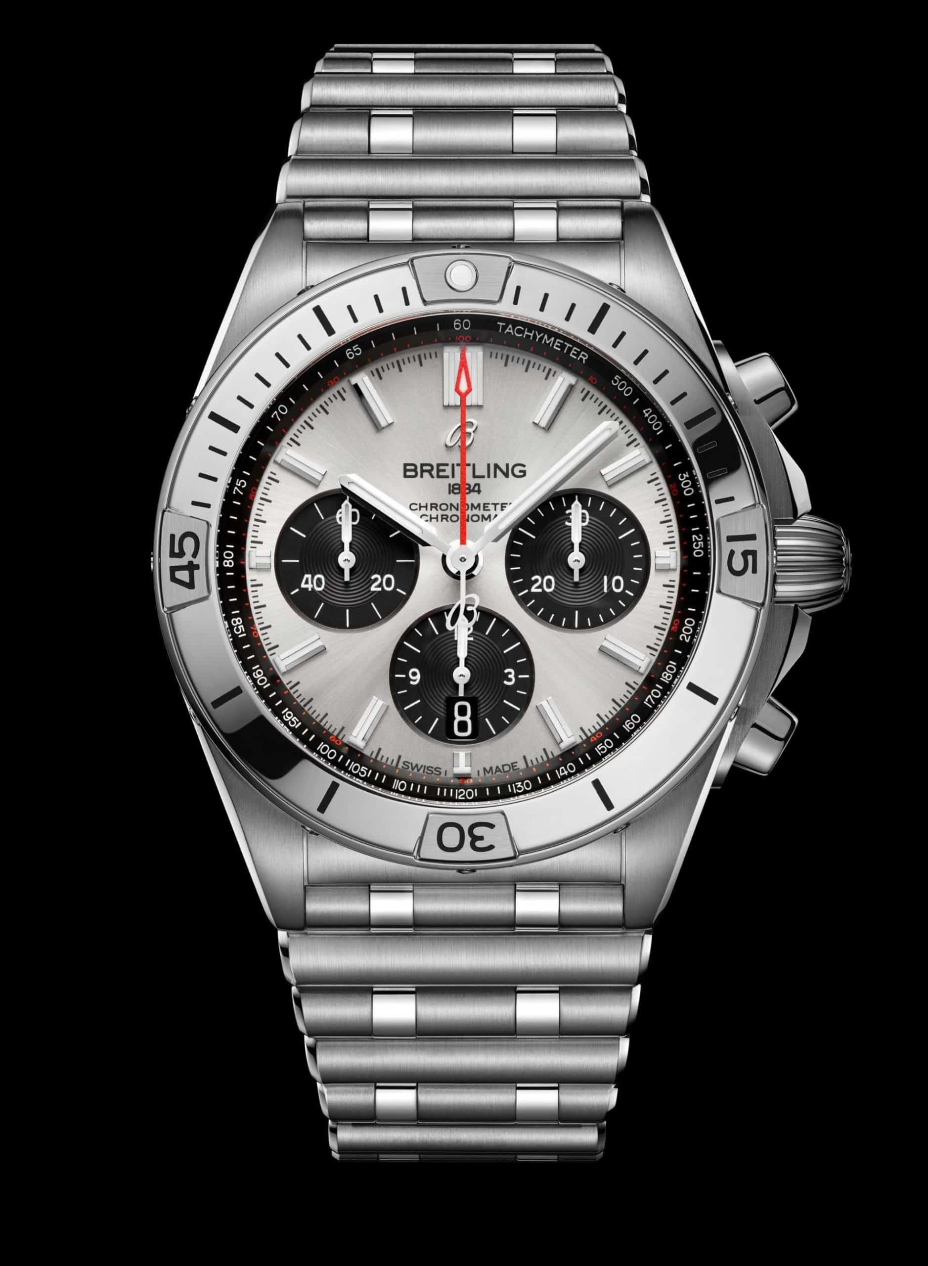Der Breitling Chronomat B01 42, Ref. AB0134101G1A1