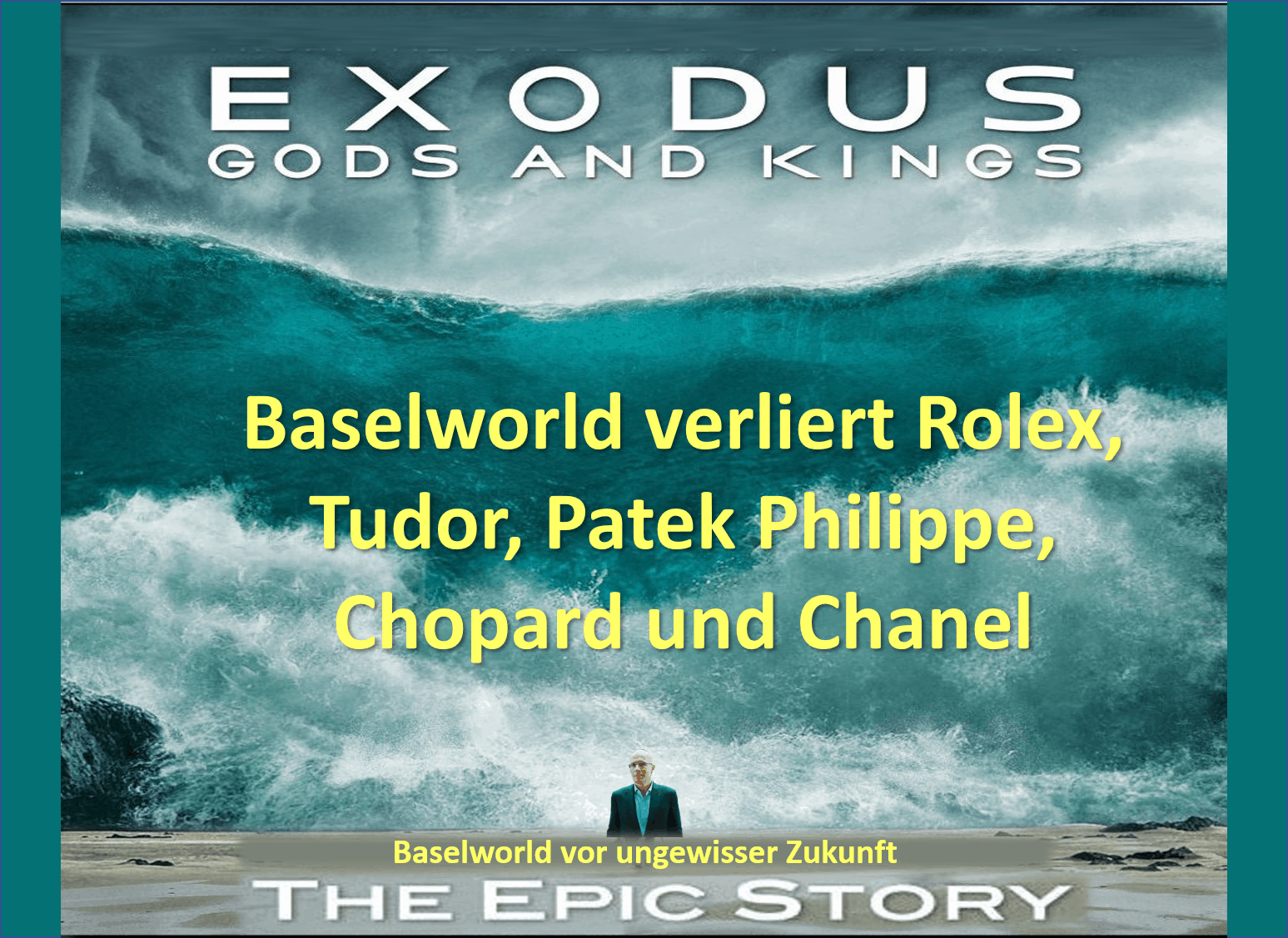 Baselworld Exit Rolex Patek Chopard Melikoff Exodus