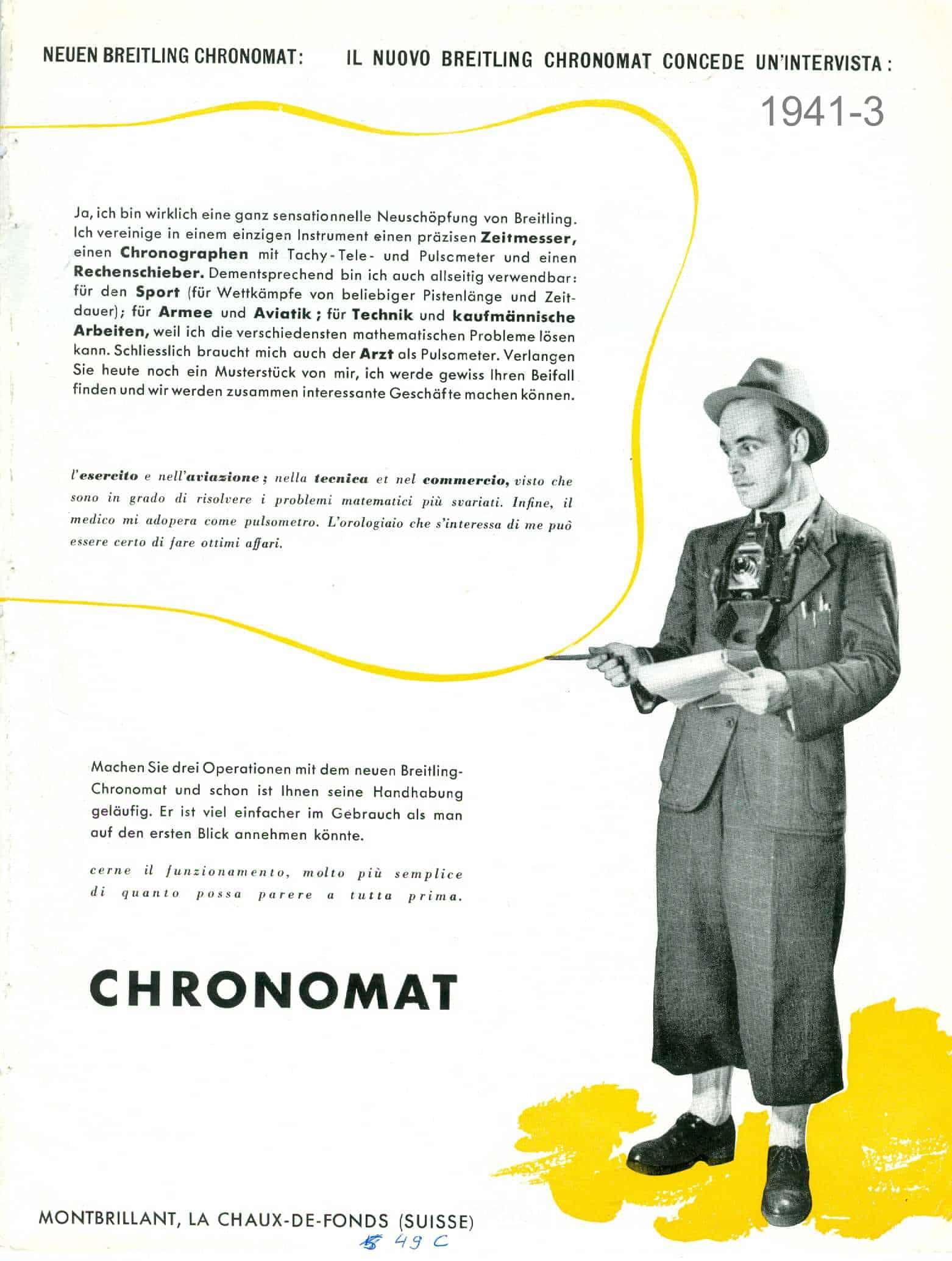Chronograph und Mathematik sind die zentralen Fähigkeiten des neuen Chronographen