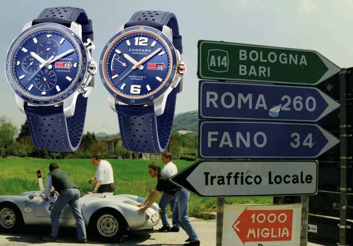 Die offiziell geprüften Mille Miglia-Chronometer von Chopard dagegen haben bereits im Vorfeld einen 15-tägigen Test unbeschadet überstanden.