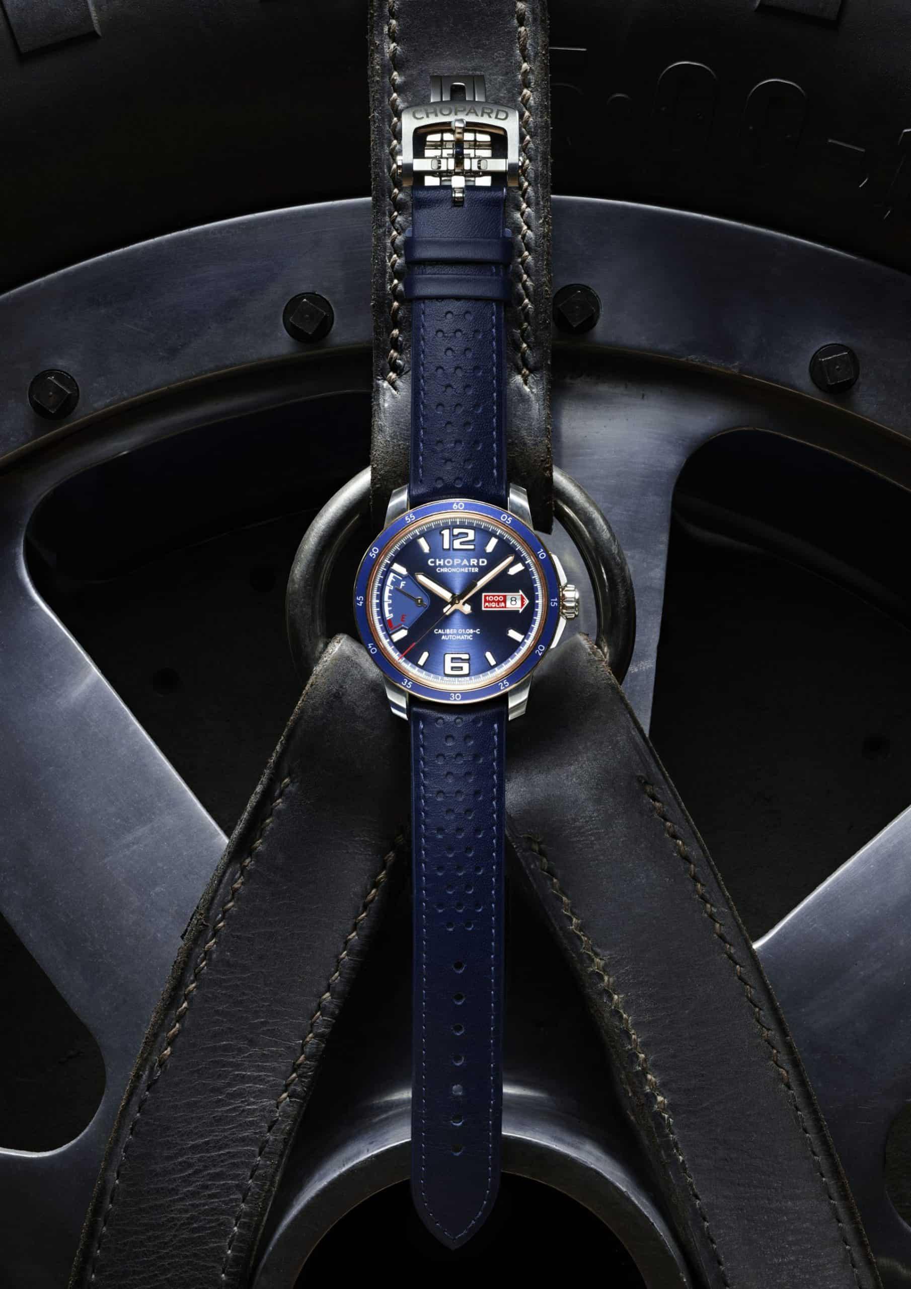 """Mit edlem hauseigenen Manufakturkaliber - die """"Mille Miglia GTS Azzurro Power Control"""""""