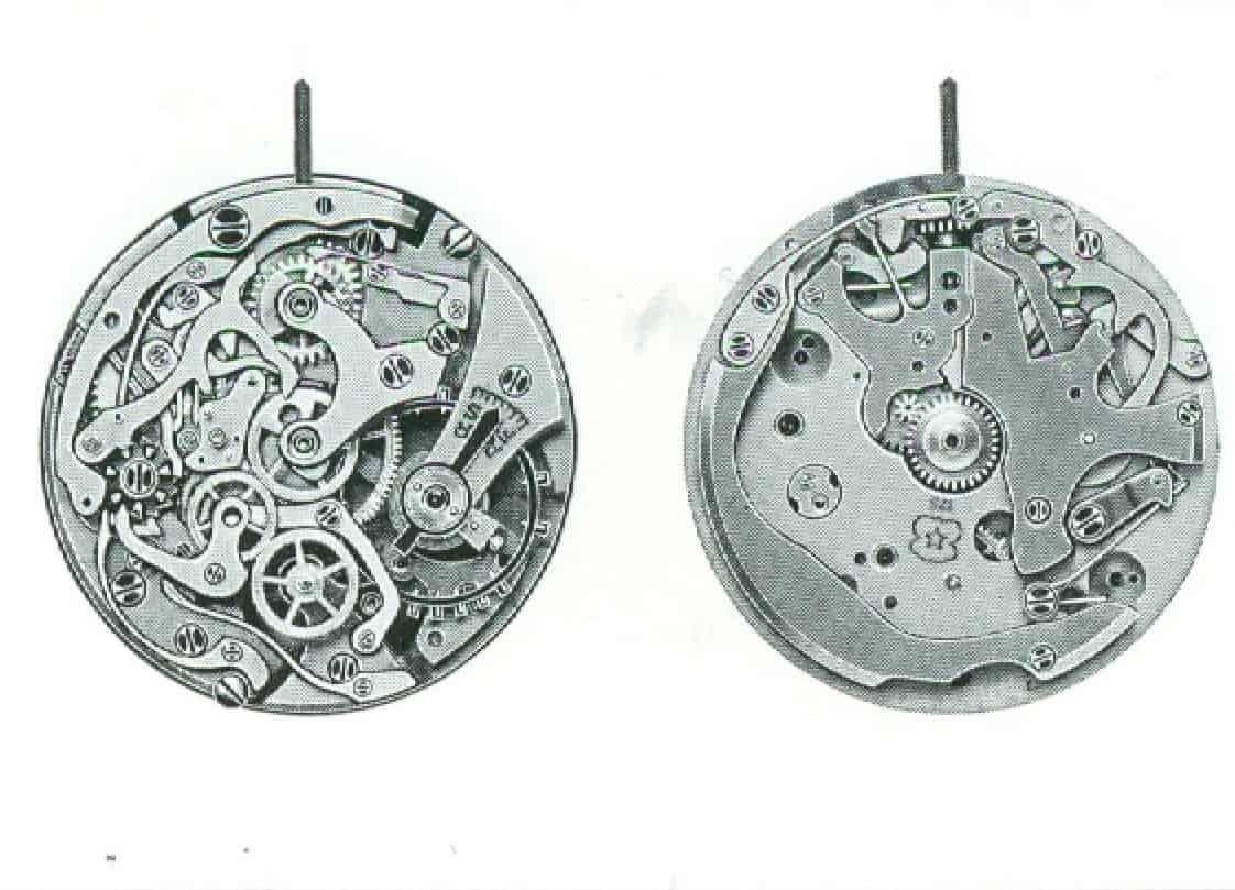 Das Schaltrad-Chronographenkaliber Venus 178 der Breitling Top Time Premium Linie