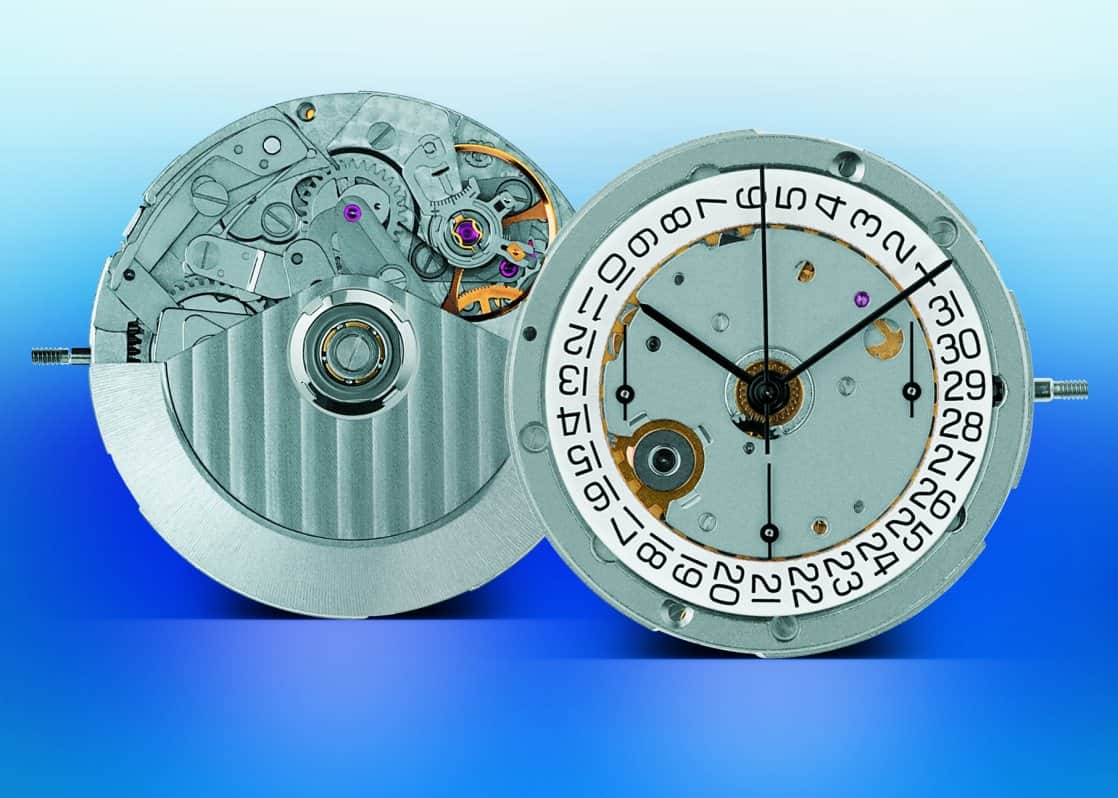Chronographenkaliber-Basis von Breitling für die Top Time ist das Kaliber Eta 7753.