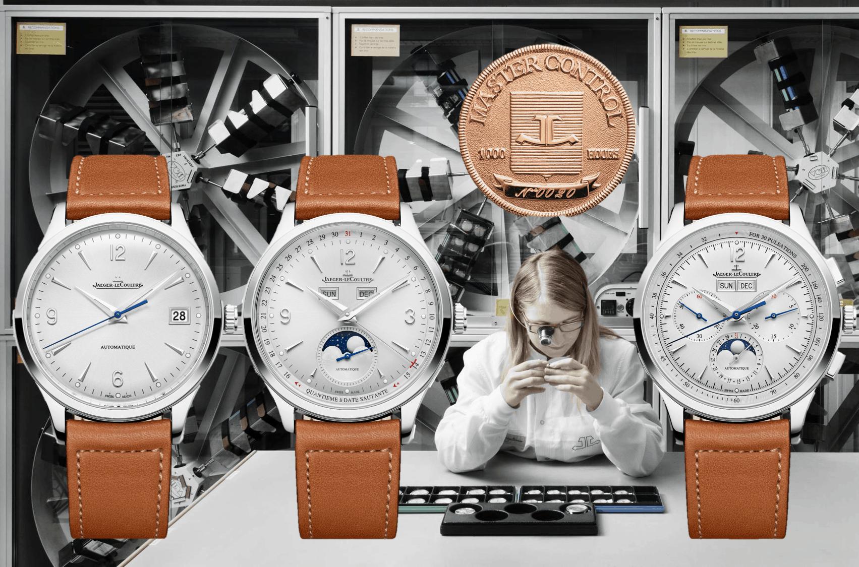 """Jaeger-LeCoultre Master Control Date, Chronograph, Geographic, Chronograph CalendarJaeger-LeCoultre lanciert 4 neue """"Master Control"""" Manufaktur-Modelle"""