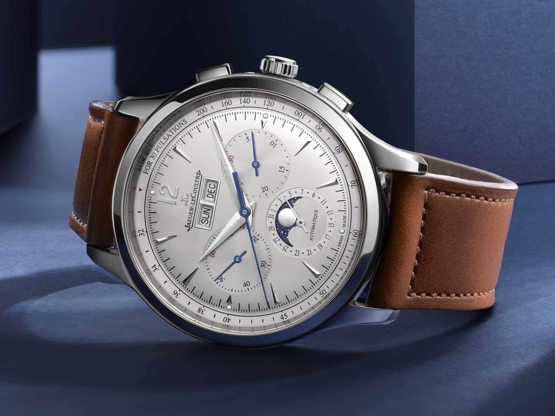 """Top-Modell der neuen """"Master Control""""-Kollektion: der """"Chronograph Calendar"""", Ref. Q4138420, für 14.900 Euro"""