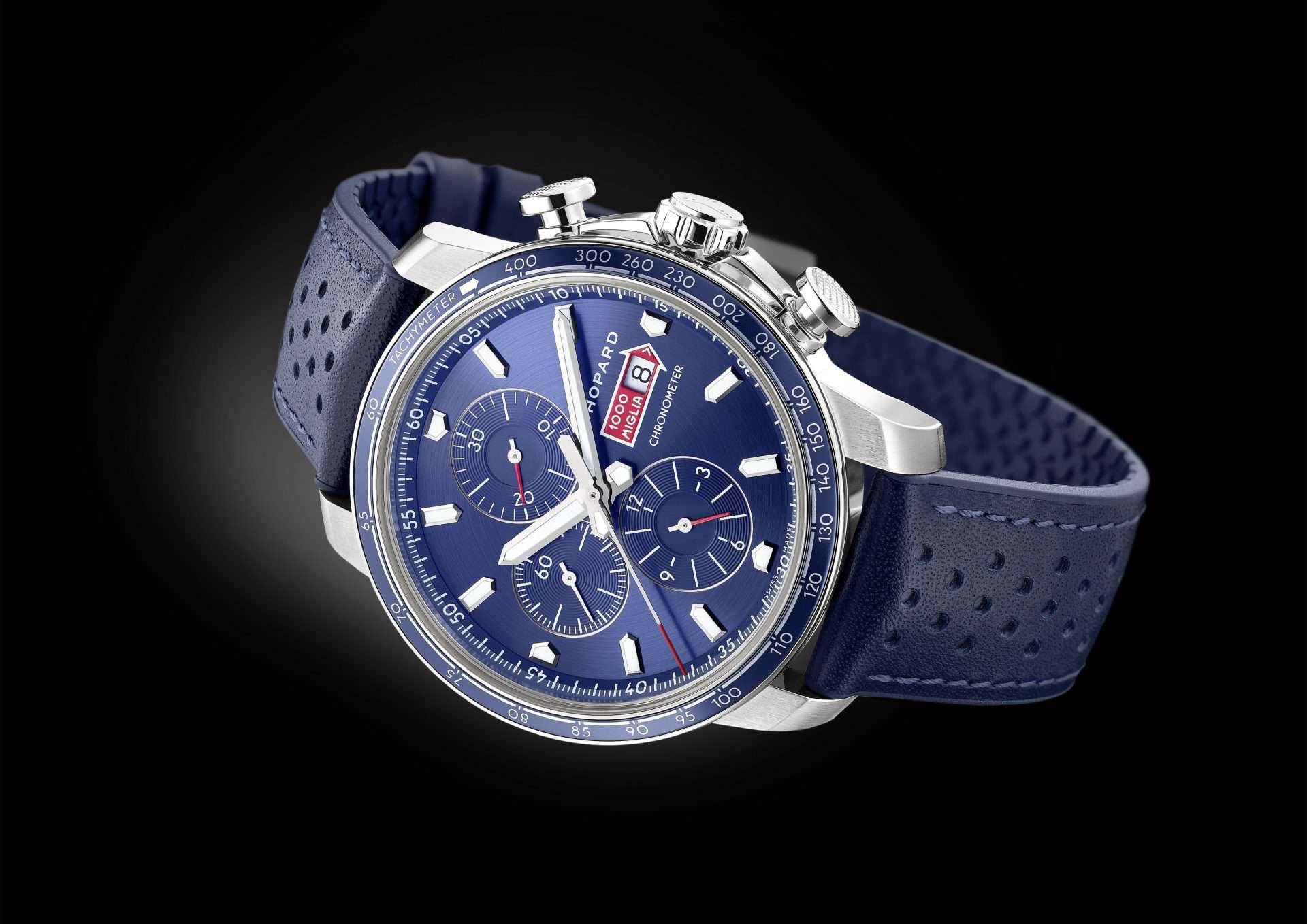 """Blauer Stopper Chopard """"Mille Miglia GTS Azzurro Chronograph"""""""