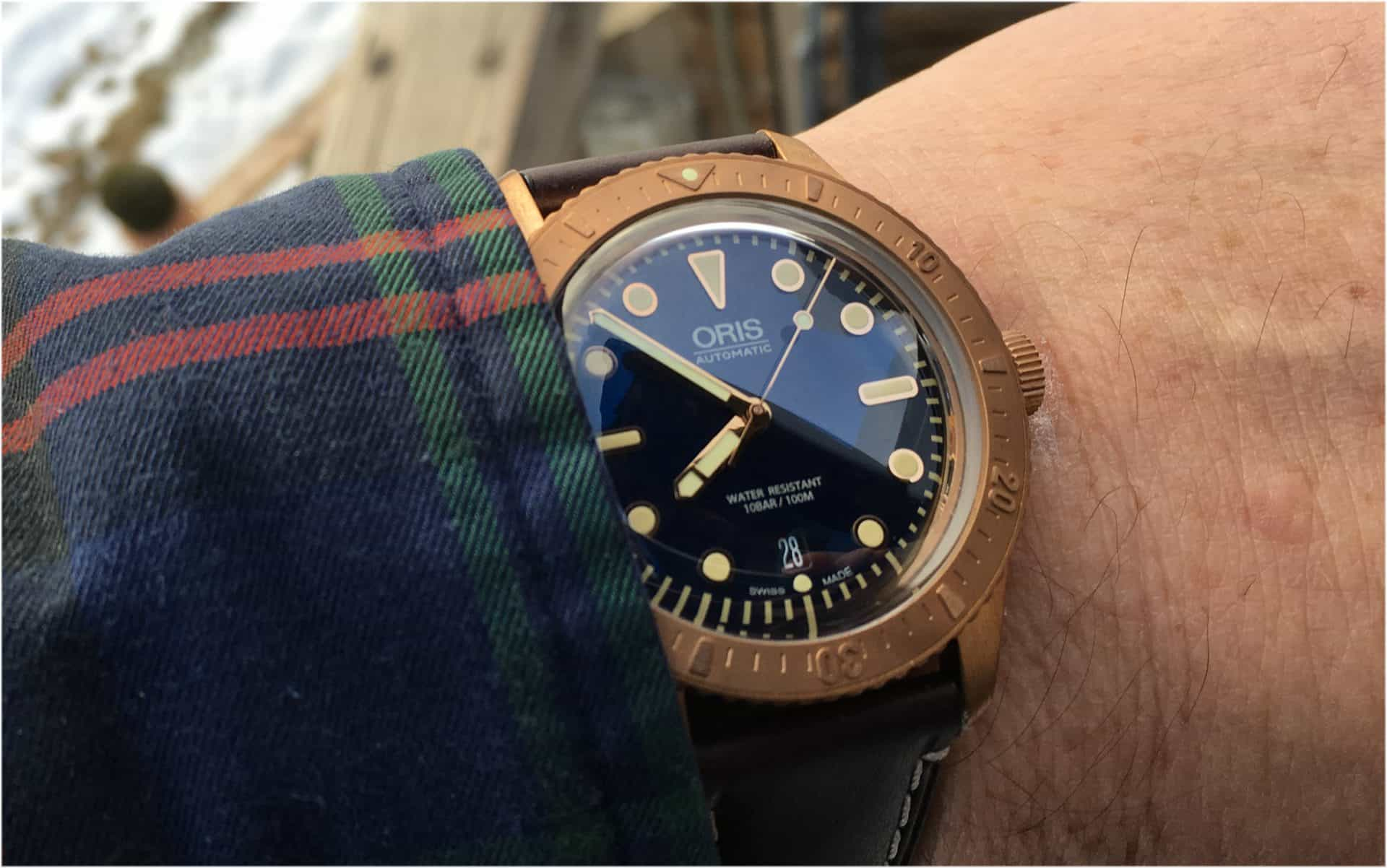 Oris Divers Sixty-Five Carl Brashear