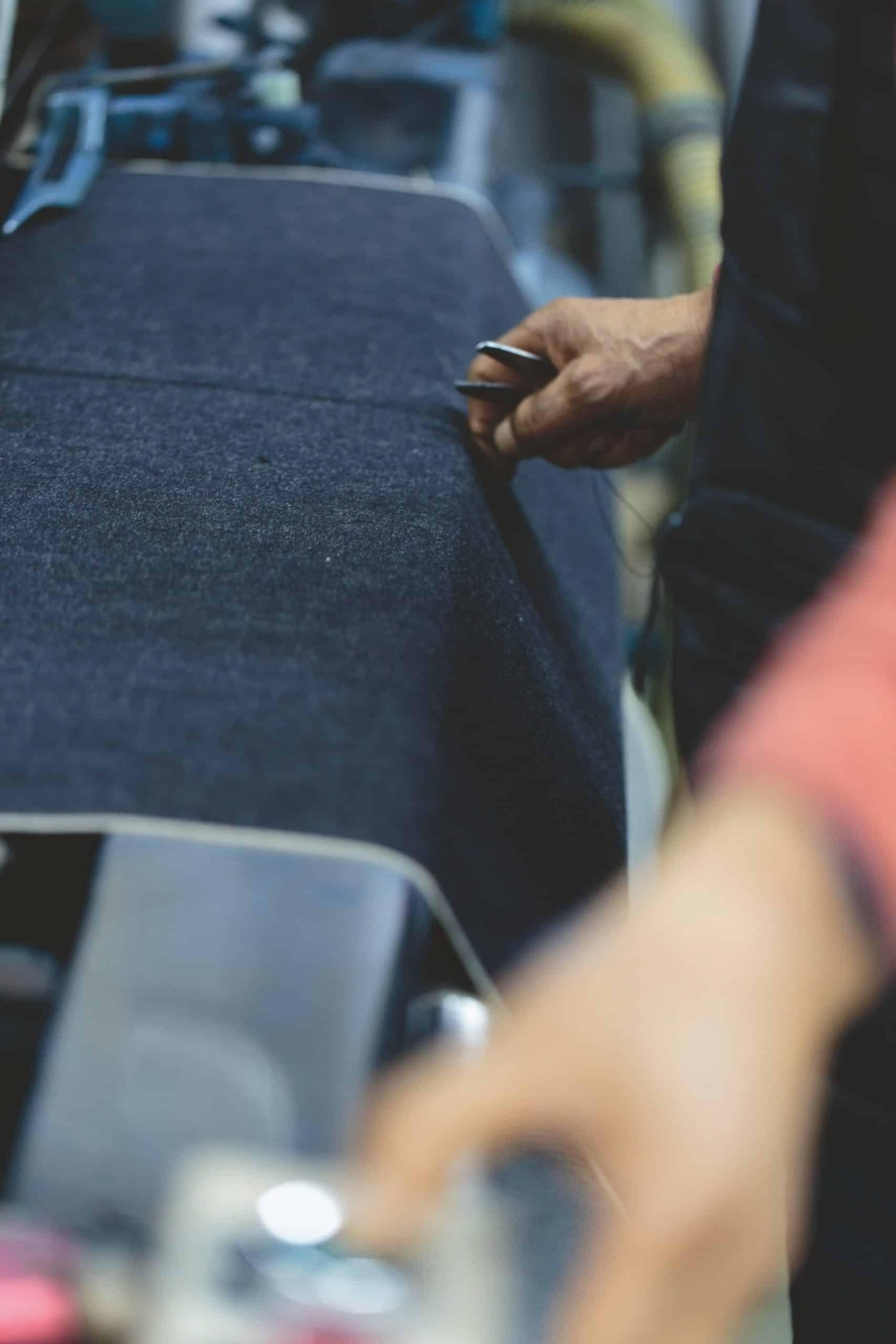 Handgemachte Jeans-Qualität von Momotaro