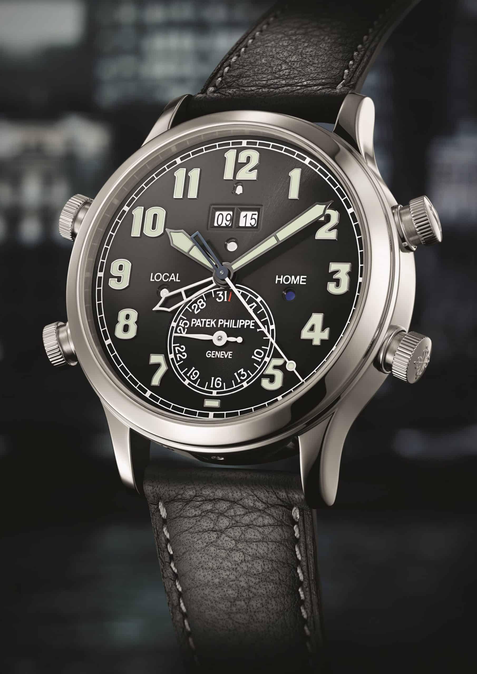 Gesucht : Aufwendige Uhren wie die Patek Philippe Alarm Travel Time Referenz 5520