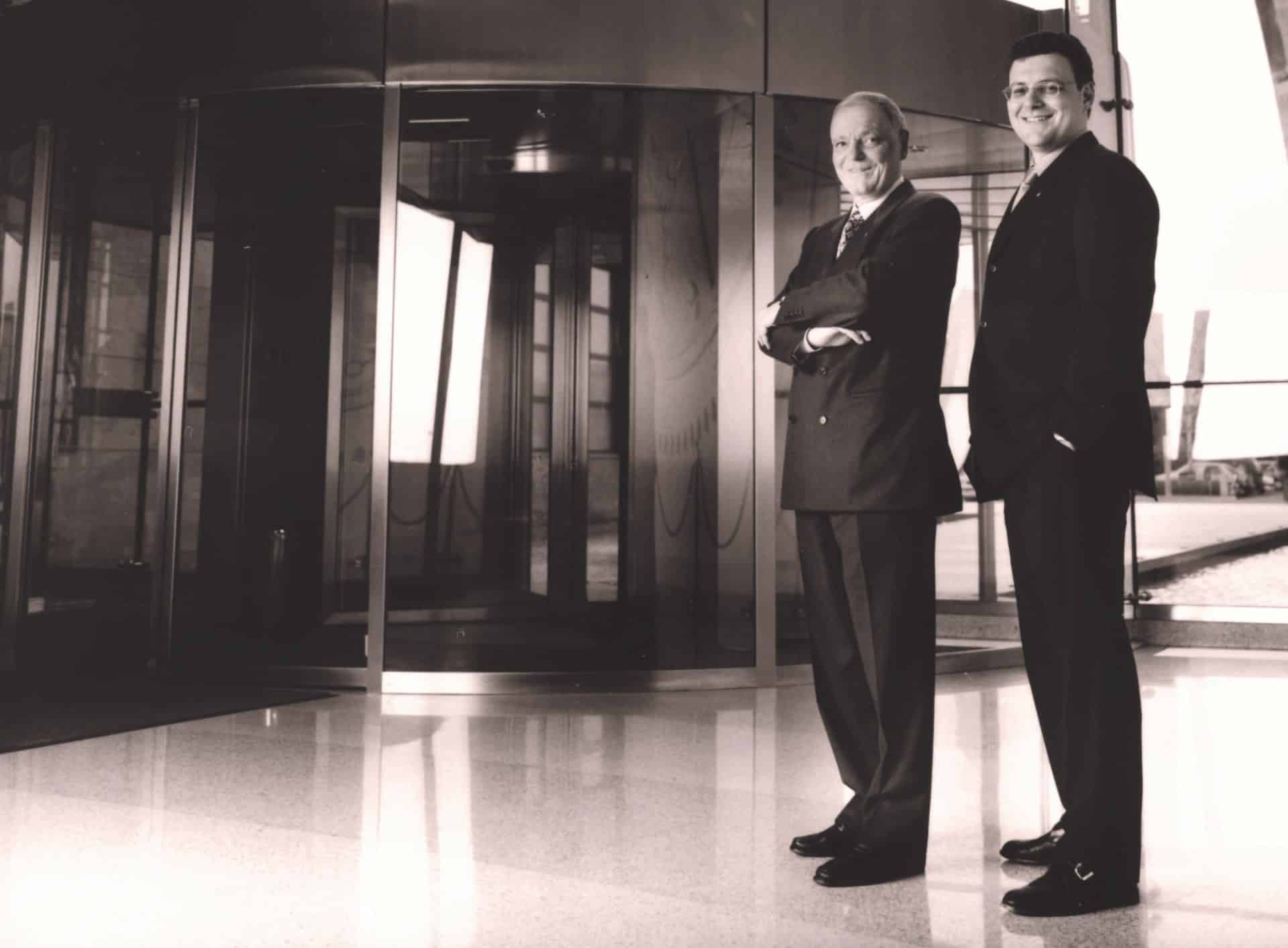 Philippe und Thierry Stern im Patek Gebäude