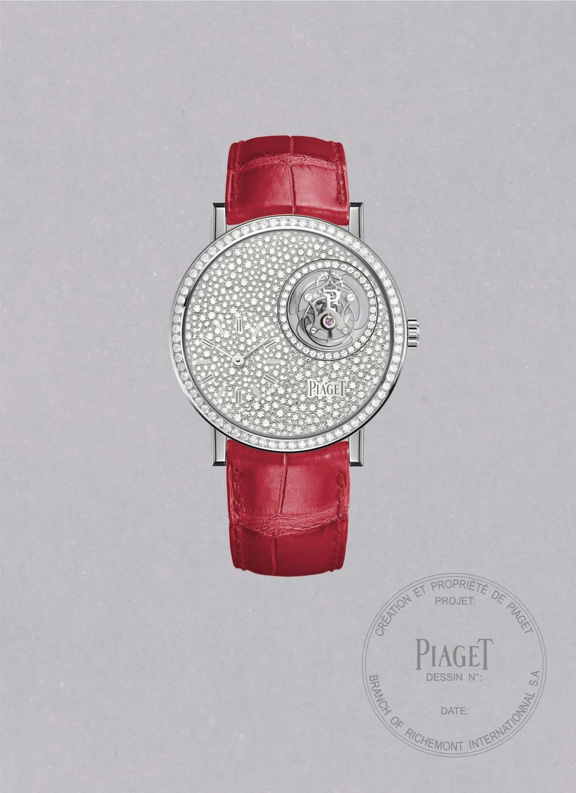 """Ultraflacher Uhrenbau von Piaget beim """"Altiplano Tourbillon"""" Shiva Safai"""
