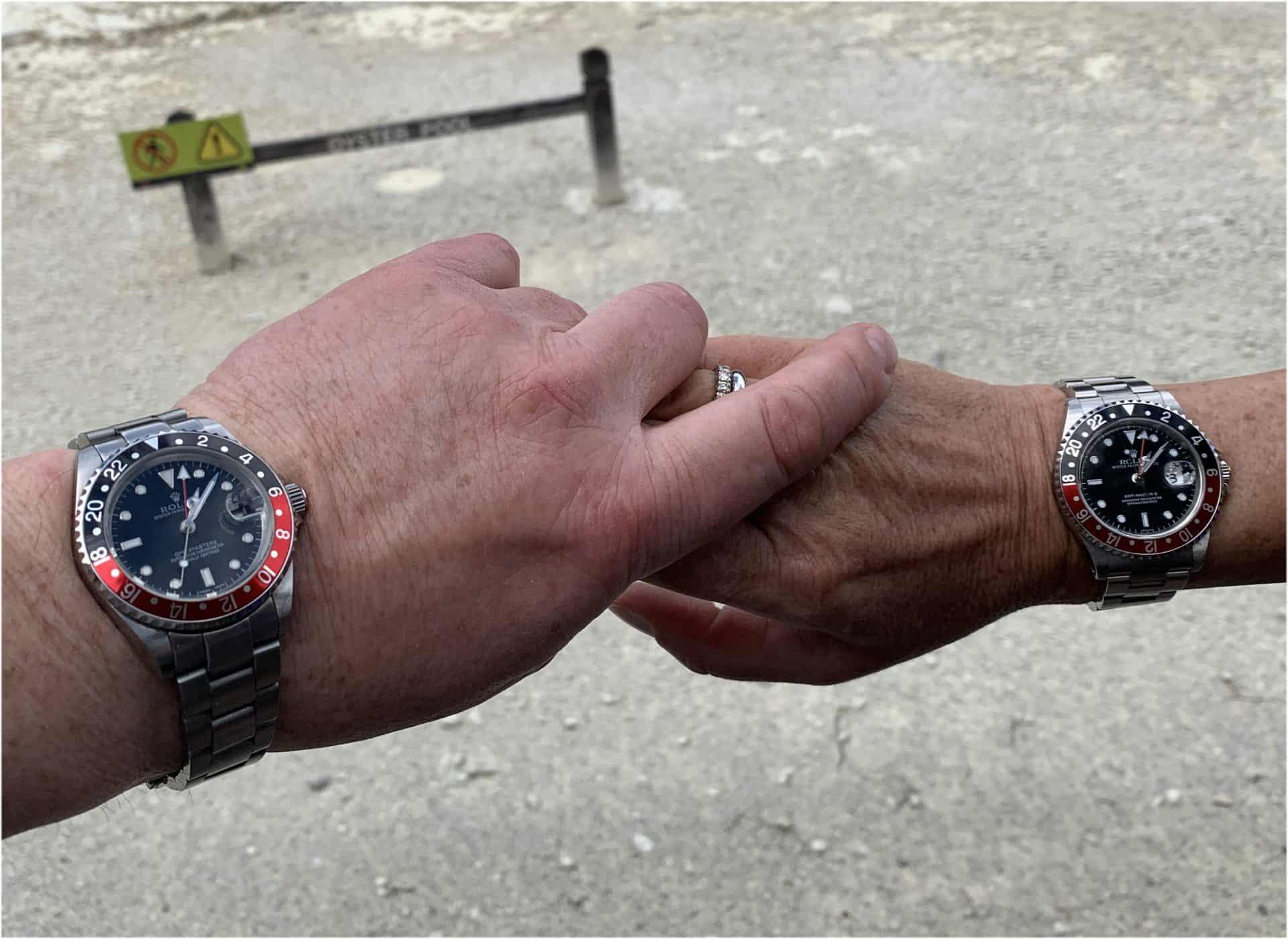 Die Rolex GMT-Master II, Referenz 16710 passt an männliche und weibliche Handgelenke.