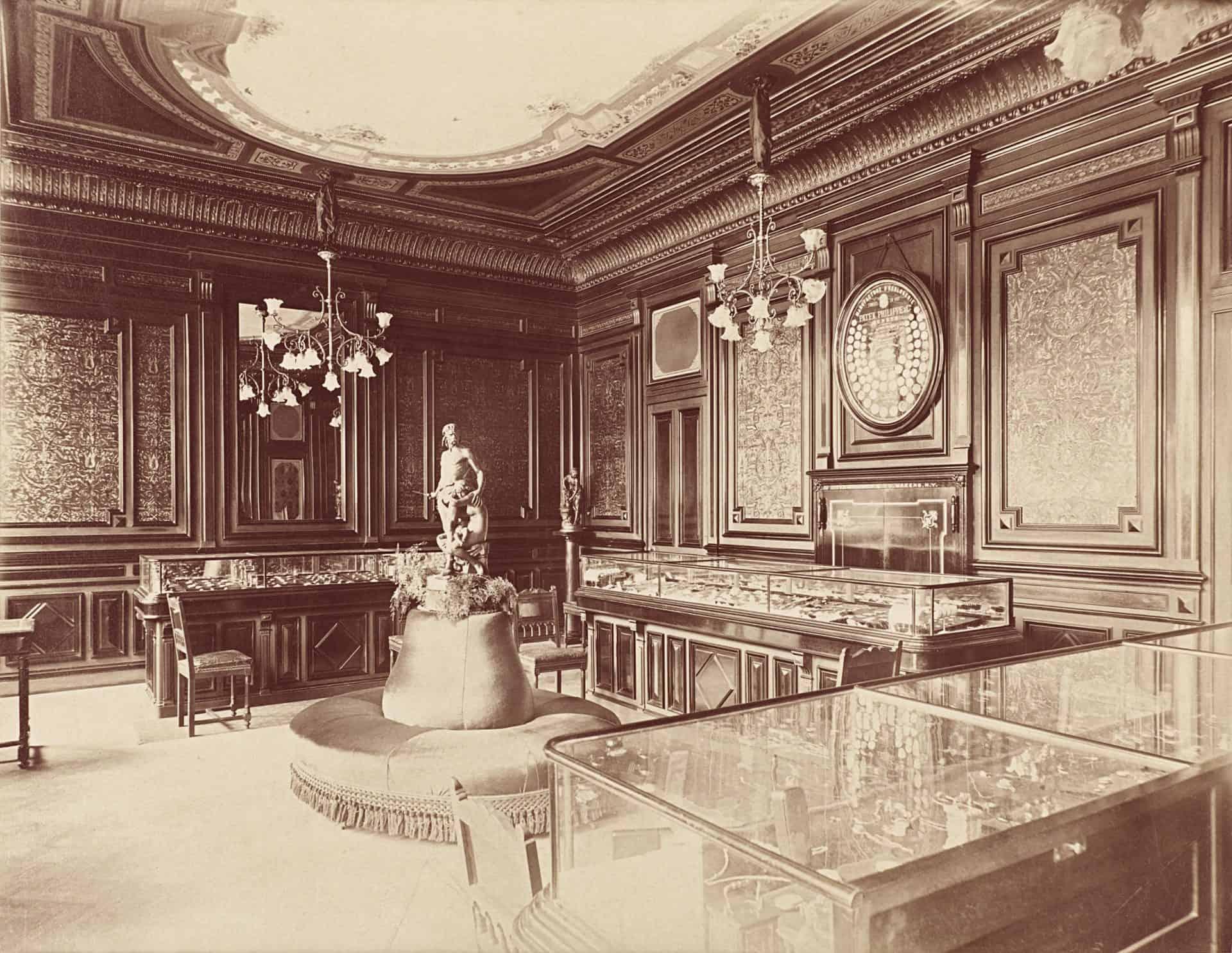 Alte Salons von Patek Philippe in New York